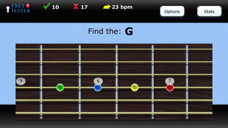 Fret Tester  - Learn Notes screenshot-1