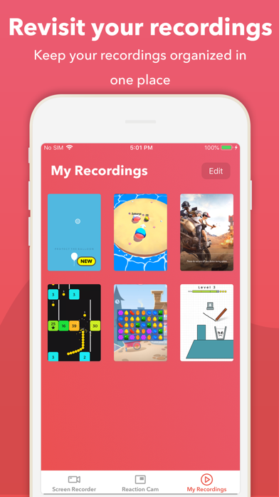 Record it! :: Screen Recorder app image