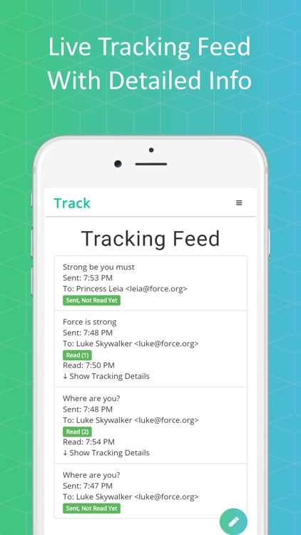 Track - Email Tracking screenshot-4