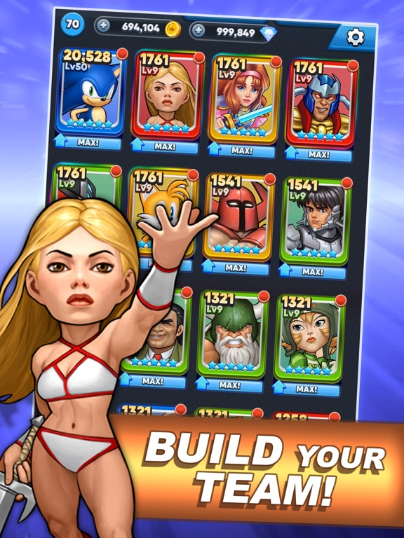 SEGA Heroes: Match 3 RPG Game screenshot 9