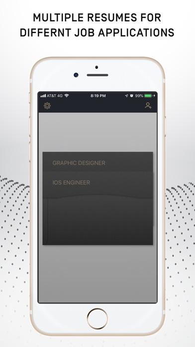 Resumer: CV & Resume builder screenshot 5