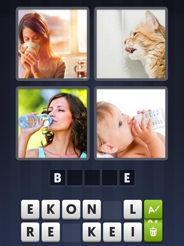jeux en ligne 4 images pour un mot