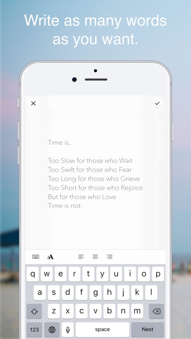 Instamemo - Writing on photos, keeping moments. Screenshot 3