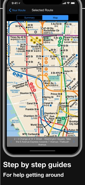 New York Subway Mta Map On The App Store