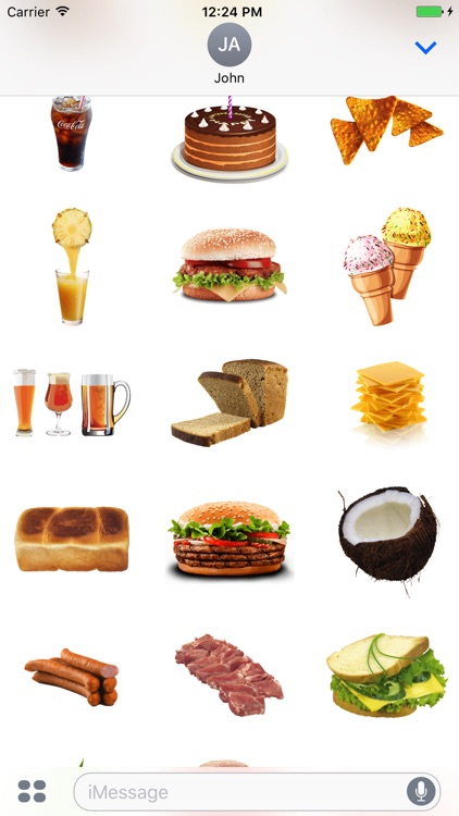 Best Food Stickers Collection