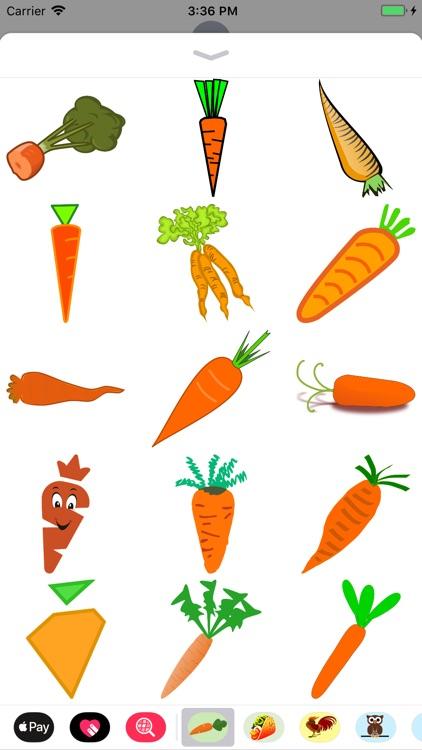 Crunchy Carrot Stickers screenshot-3