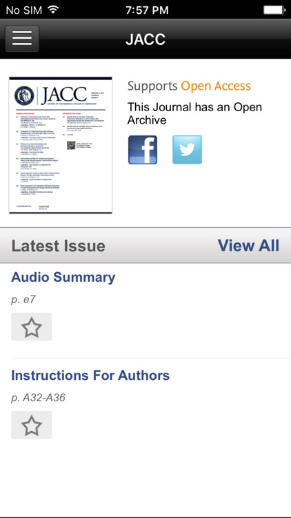 JACC Journals screenshot-2