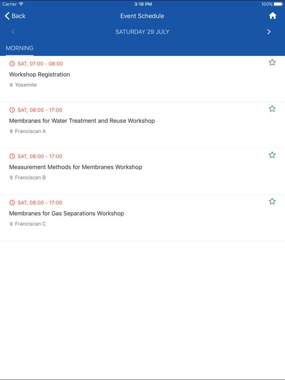 Elsevier Conferences App screenshot 10