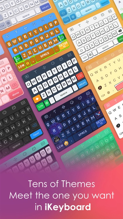 iKeyboard -Cool Keyboard Theme