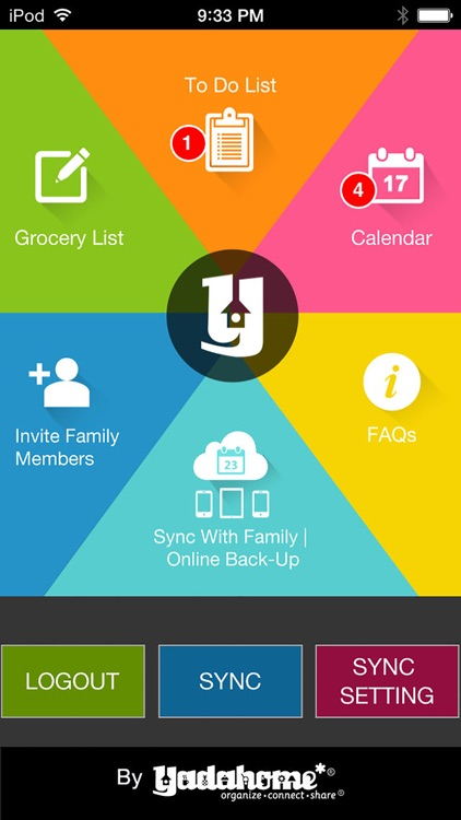 Family Organizer by YadaHome
