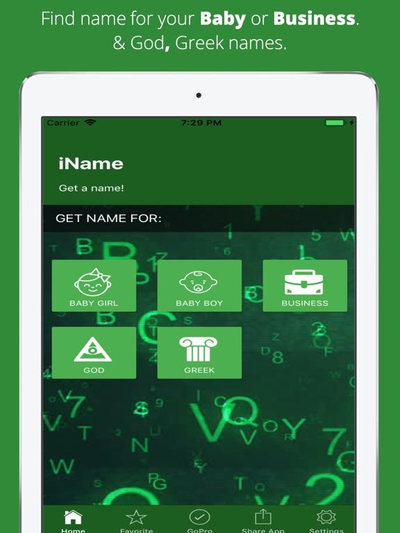 iName - Get a Name screenshot 6