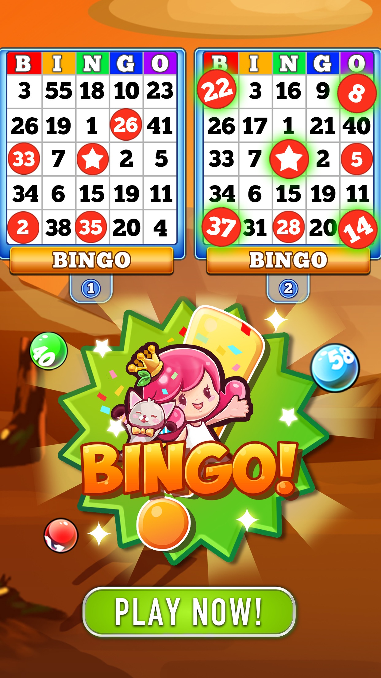 Bingo Heaven! Screenshot