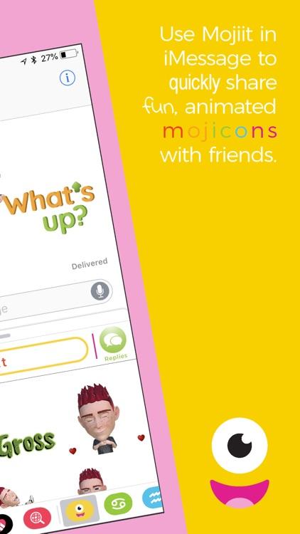 Mojiit: Custom Emoji GIF screenshot-5