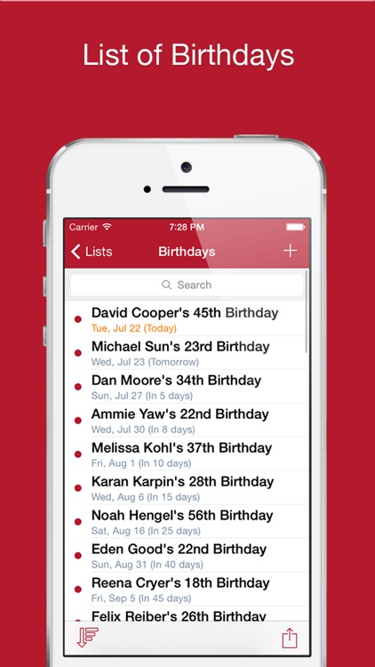 Cal List Pro - Calendar list screenshot-3