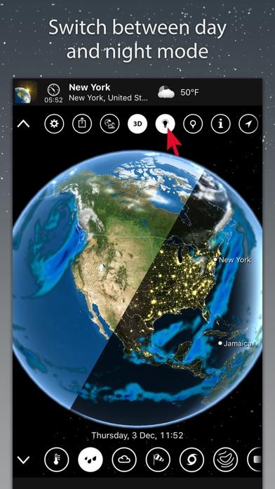 MeteoEarth Screenshots
