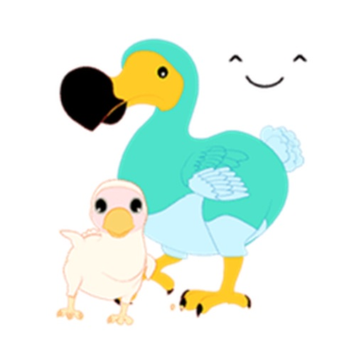 Cute Dodo Bird Sticker