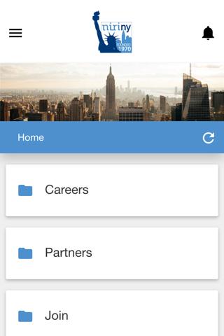 NIRI New York Chapter App - náhled