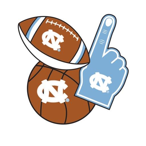 UNC-Chapel Hill Tarheels Selfie Stickers