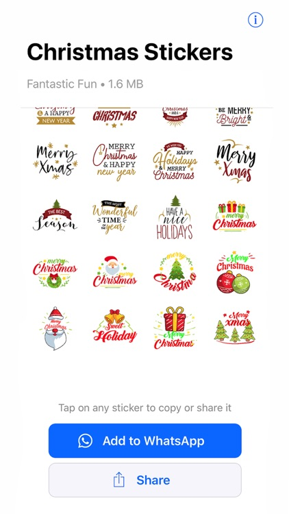 Christmas WAStickerApps