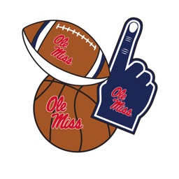 Ole Miss Rebels Selfie Stickers