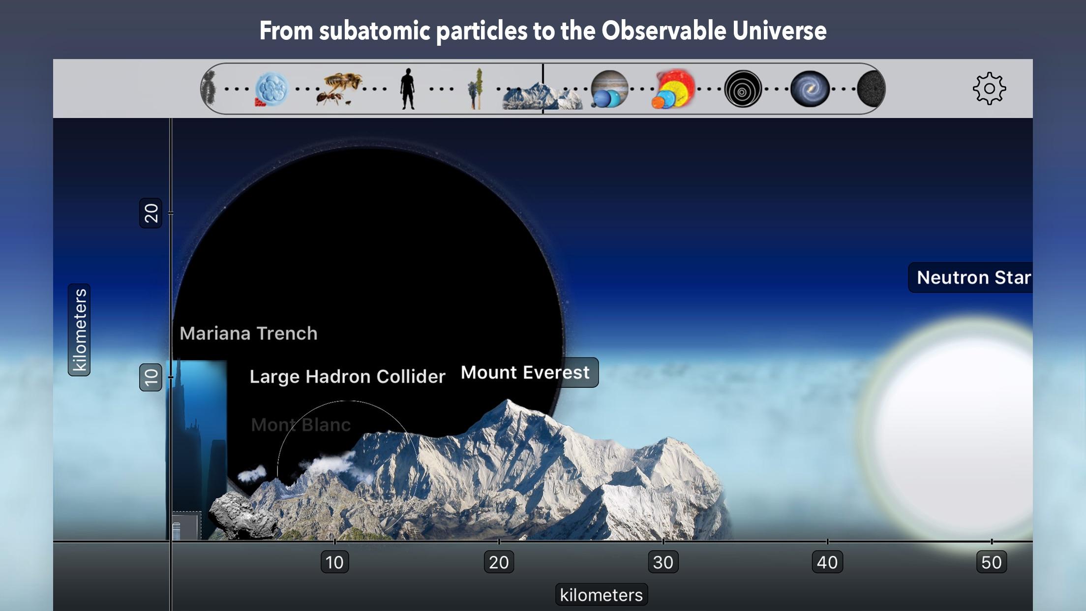 Screenshot do app Universal Zoom