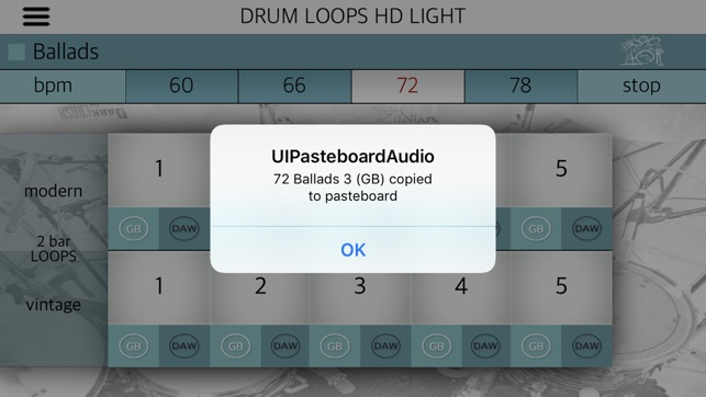 Drum Loops HD Light on the App Store