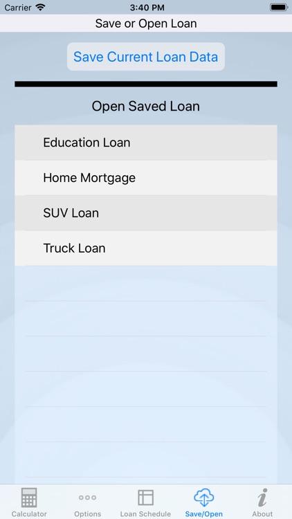 Loan Review - Loan Calculator screenshot-3