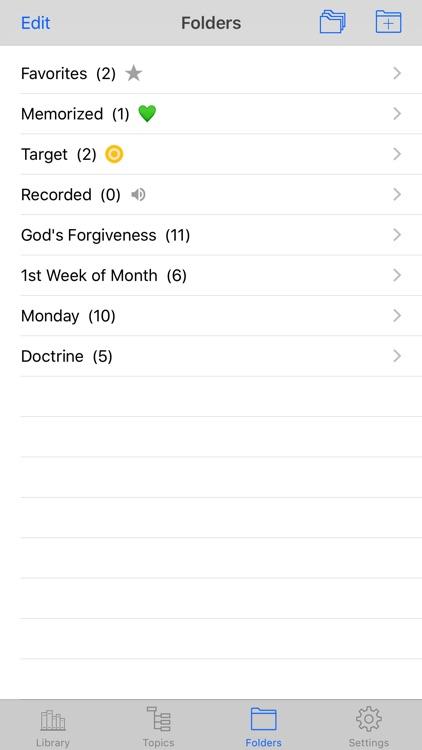 Bible Memory Verses screenshot-4