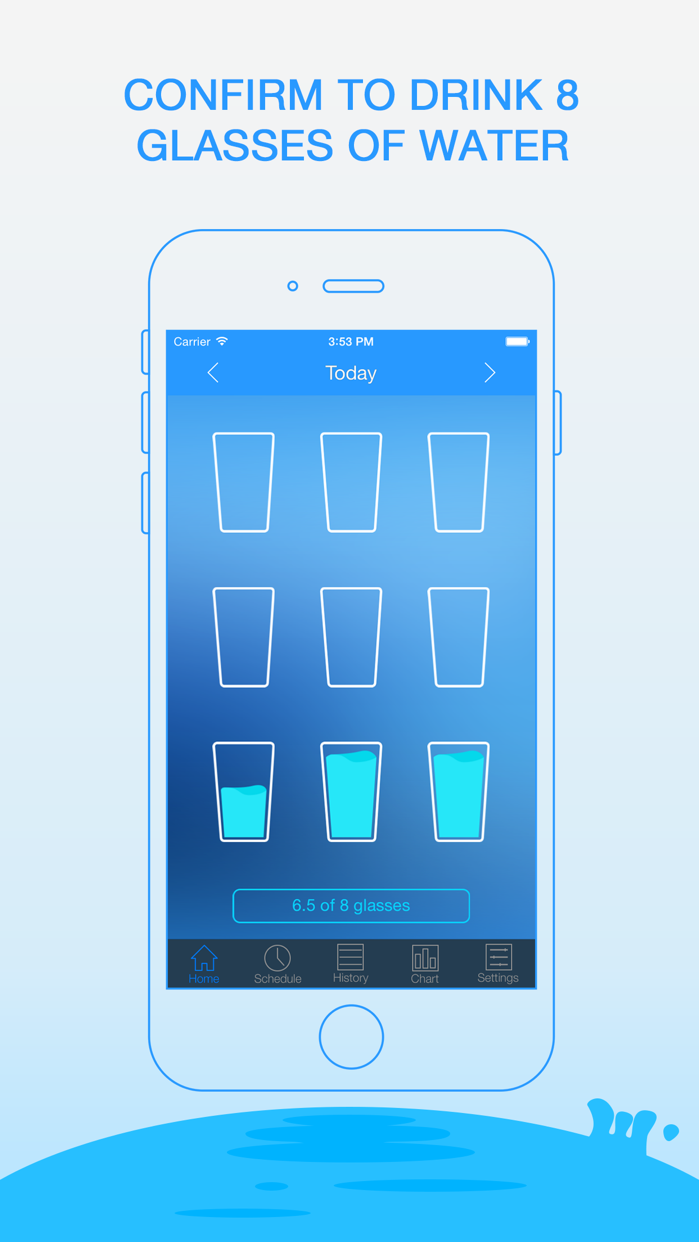 Daily Water - Drink Reminder Screenshot