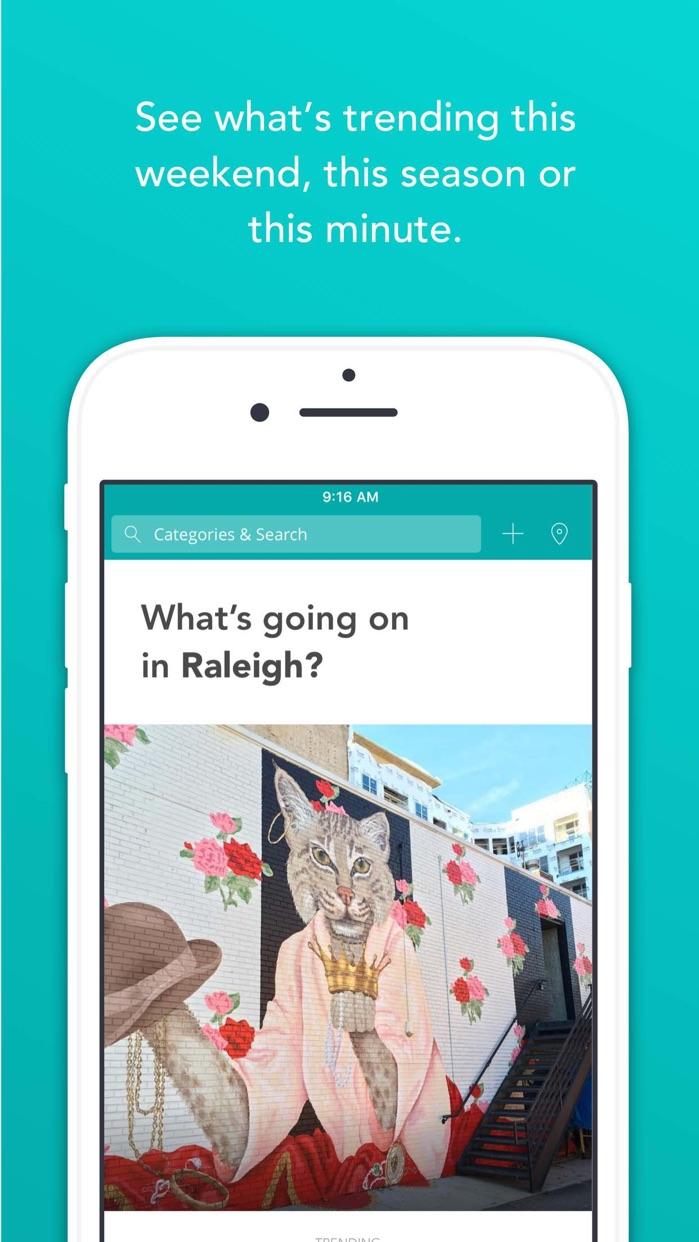 Offline — Curated City Guide Screenshot