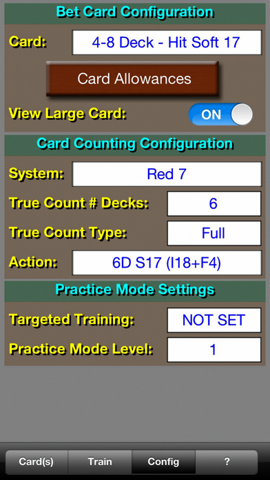 BlackJack Teacher Pro... screenshot1