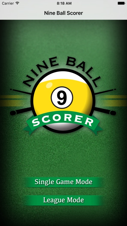Nine Ball Scorer screenshot-0