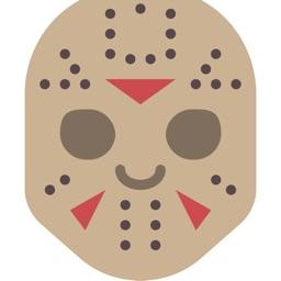 Halloween Masks Stickers