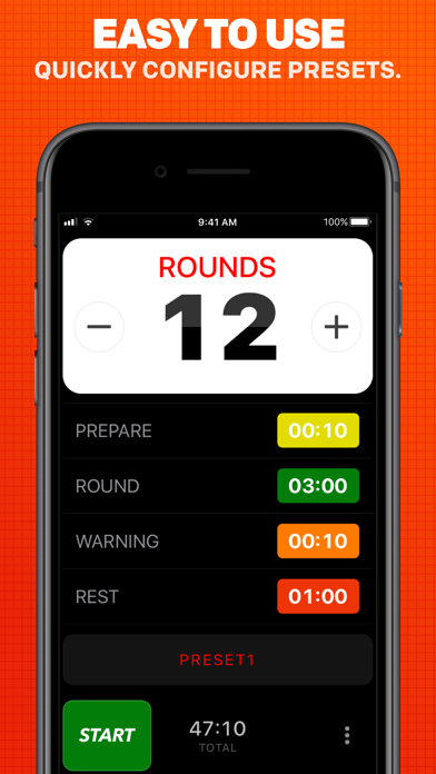Boxing Timer Pro Screenshot 2