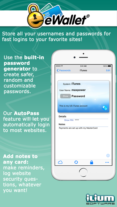 download eWallet - Password Manager apps 2