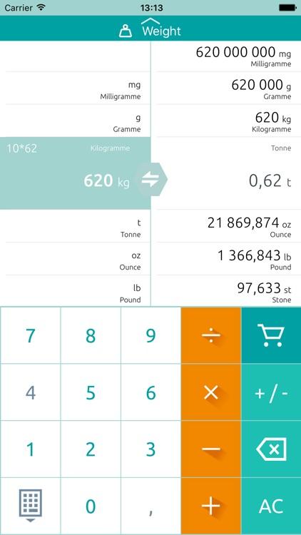 Unit converter - Calculator screenshot-3
