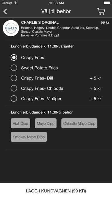 Charlie's Burgers Screenshot