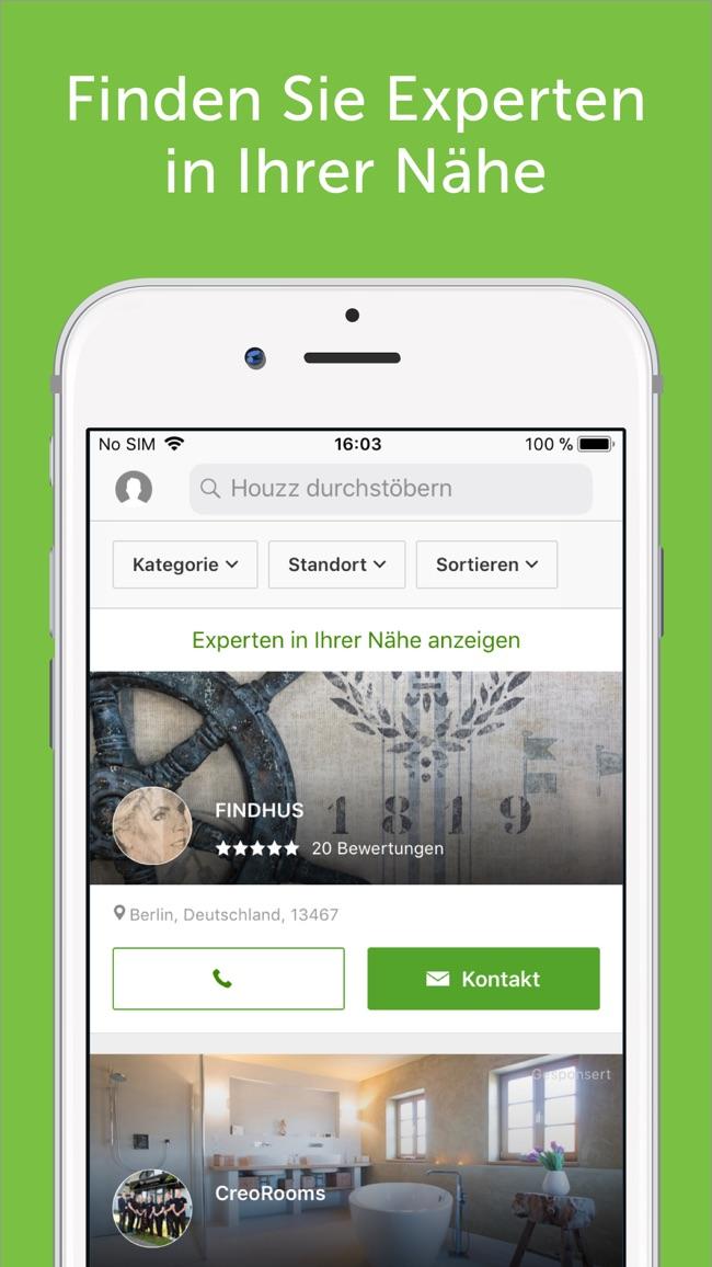 Houzz: Wohnen, Interior Design Screenshot