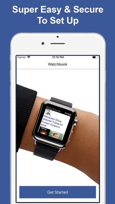 Watchbook - Watch for Facebook Screenshot 5