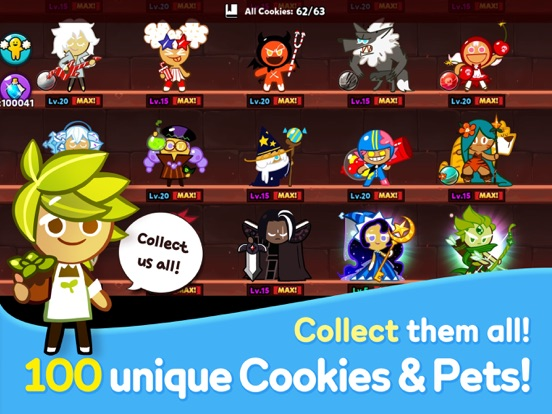 Cookie Run: Побег из печи для iPad