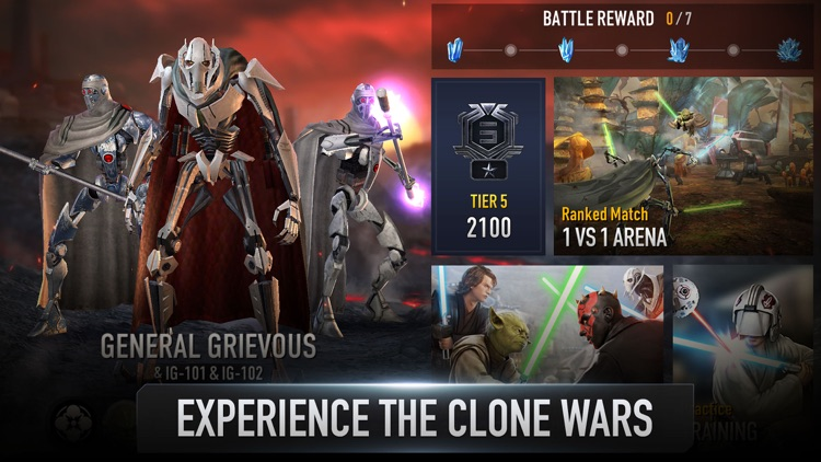 Star Wars™: Force Arena screenshot-0