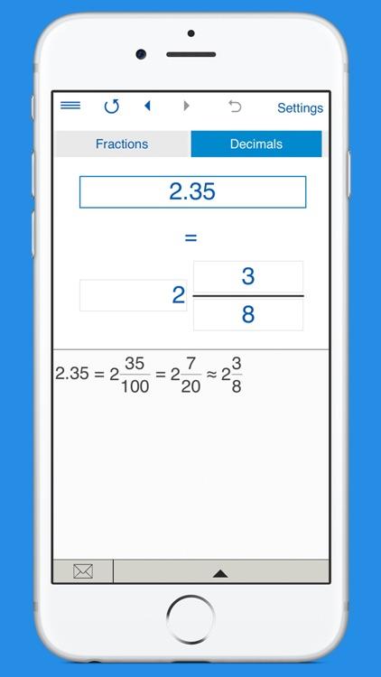 Fraction Converter Calculator screenshot-4