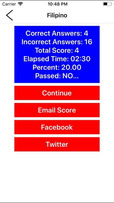 LET Exams - Philippines screenshot1