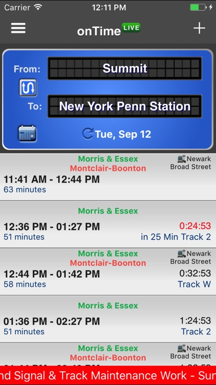 onTime NJT screenshot-0