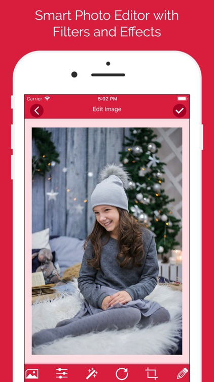 Christmas Photo Collage Frames