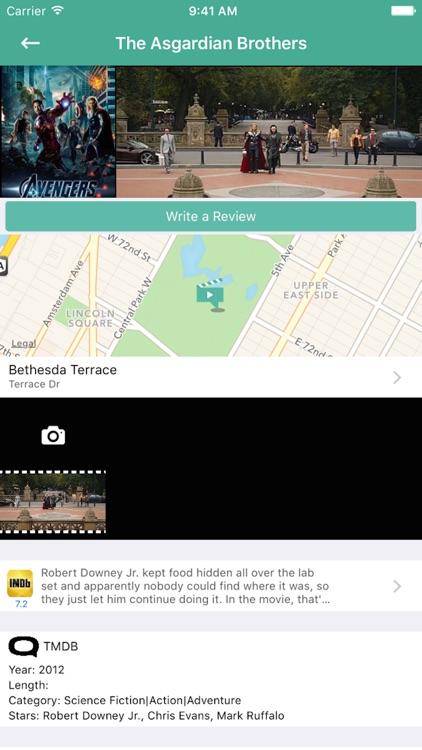 MovieSpot NYC Film Locations screenshot-3