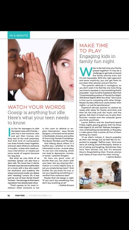 Your Teen Magazine for Parents screenshot-3