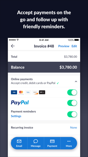 Invoice Go Invoice Estimate On The App Store - Best free invoice software online music stores