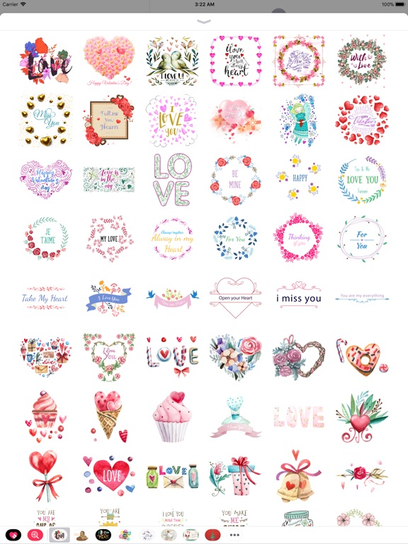 Happy Love Stickers - Animated screenshot 7