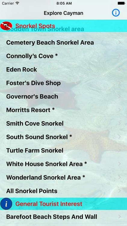 Cayman Snorkel screenshot-4